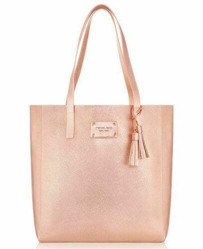 MICHAEL KORS Rose Gold Pink Tote Handbag Weekender Bag, GWP,