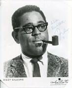 Dizzy Gillespie Signed