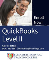 QuickBooks Level II – Reports, T4, Currencies, Customization