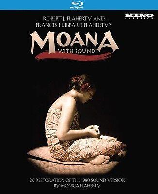 Moana With Sound Blu Ray