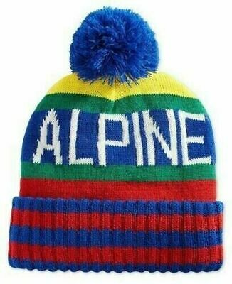 Polo Ralph Lauren Hi Tech Alpine Knit Pom Beanie Hat PC0276 Multicolor OSFA NWT Alpine Knit Hat