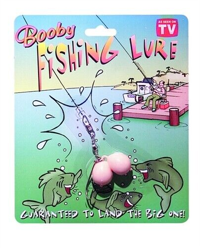 Booby Fishing Lure - Funny Prank Gag Gift