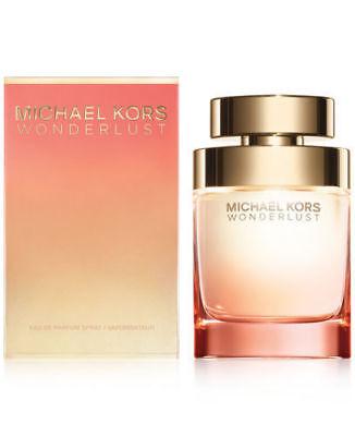 Michael Kors Wonderlust Eau de Parfum 3.4 oz (100 ml) Spray New SEALED BOX