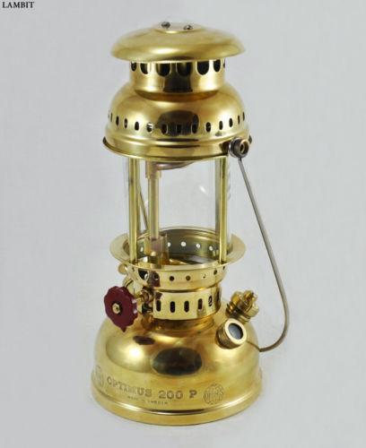 Brass Kerosene Lantern   eBay