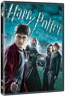 Harry Potter And The Half Blood Prince  Widescreen Edition  New