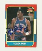 Patrick Ewing Autograph