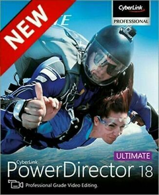 CyberLink PowerDirector Ultimate 18 ✅ Unlimited Devices ✅ vfast Delivery 