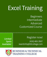 Microsoft Office Excel Training