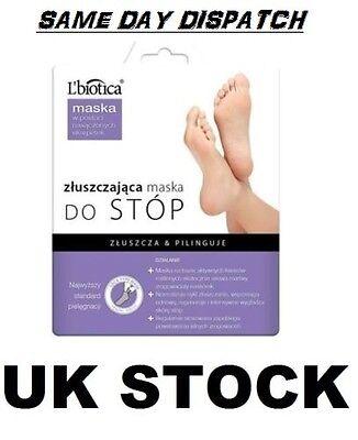 Lbiotica L'biotica Exfoliating Peel Feet 1 pair Sock Mask Zluszczajaca silcatil