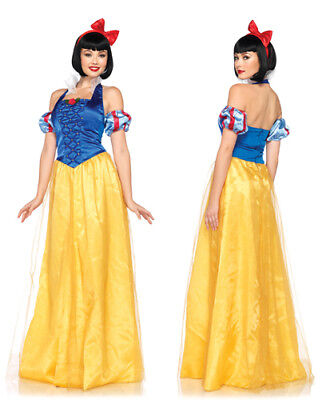 Classic Disney Princess Snow White Gown Womens Costume (Classic Snow White Costume)