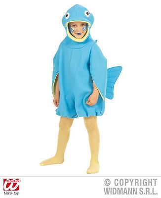 Childrens Fish Fancy Dress Costume Flounder Nemo Ocean Fish Outfit 3-4 Yrs - Nemo Fancy Dress Costume