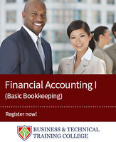 Financial Accounting Certificate - Basic Bookkeeping Classes