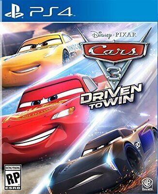 Cars 3: Driven to Win (Sony PlayStation 4, 2017) BRAND NEW