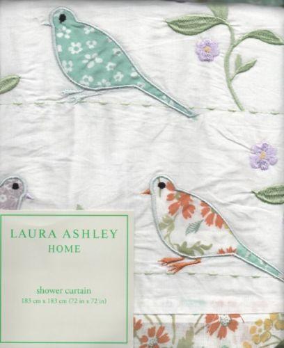 Laura Ashley Shower Curtain | EBay