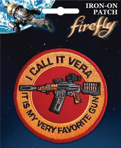"""Firefly Serenity Iron On Patch: """"I Call it Vera It"""
