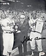 Hank Aaron Photo