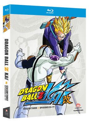 Dragon Ball Z Kai: Season 3 [New Blu-ray] Boxed Set (Dbz Kai Season 3)