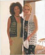 Ladies Waistcoat Knitting Pattern