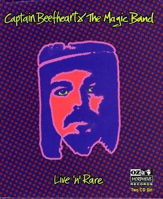 Captain Beefheart - Live N Rare [New CD] Digipack Packaging