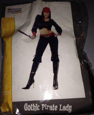 Extra Plus Size Halloween Costumes (California Costume Sexy Gothic Pirate Lady Halloween Costume Size S PLUS)