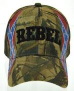 Rebel Camo Hat