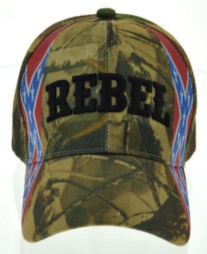 Rebel Camo Hat Ebay