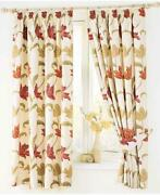 Floral Tab Top Curtains