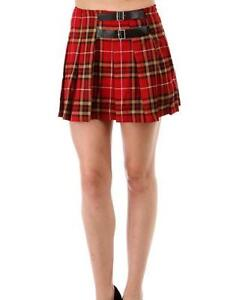 Plaid Skirt | eBay