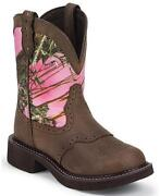 Justin Camo Boots
