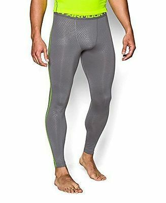 MEN'S SIZE MEDIUM UNDER ARMOUR COMPRESSION PANTS FOOTBALL TIGHTS FIT HEATGEAR