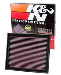 K&N 33-2873 High Performance Replacement Air Filter-Volvo