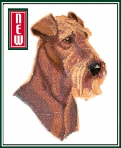 Large Embroidered Zippered Tote - Airedale Terrier BT7063