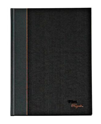 Tops Royale Geltex Bound Executive Notebook - 96 Page - 20 Lb - Legal Ruled - 8