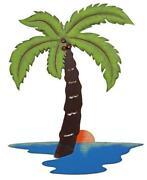 Metal Palm Tree