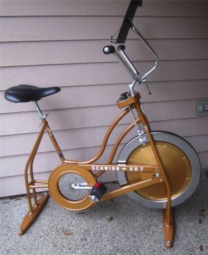 Used Schwinn Bike Parts Neck : Vintage schwinn exercise bike ebay