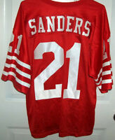 Number 21 Dion Sanders San Francisco 49rs Home Jersey