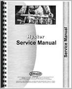 Hyster Service Manual