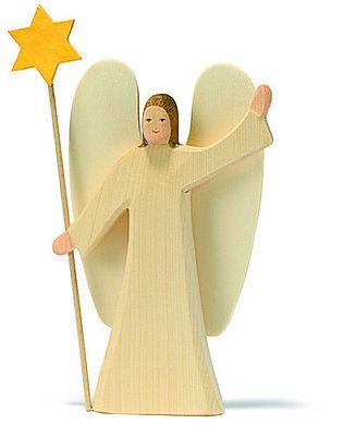 Engel mit Stern Ostheimer Figuren Tiere Krippenfiguren Bauernhof
