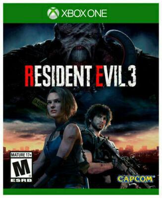 RESIDENT EVIL 3 (Microsoft Xbox One XB1 Game)