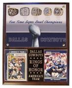 Dallas Cowboys Plaque