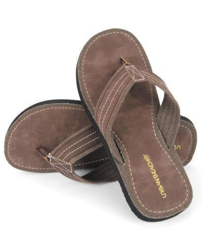 f6d13b32d9ce8 Leather Flip Flops: Clothes, Shoes & Accessories | eBay