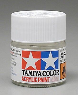 Tamiya XF2 Flat White Acrylic Model Paint 81702 (Tamiya Model Paints)