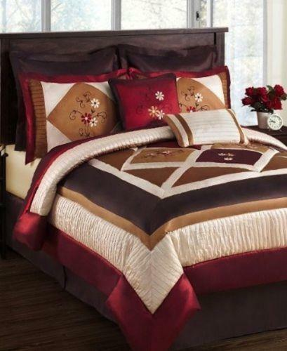 Brown Queen Comforter Ebay