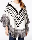 Acrylic Dolman Sleeve Women's Poncho Sweater Sweaters