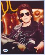 Lou Reed Signed