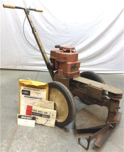 vintage rototiller parts