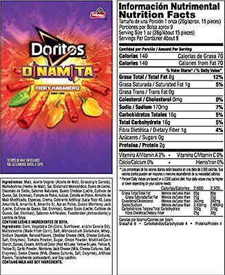 Doritos Dinamita Rolled Tortilla Chips