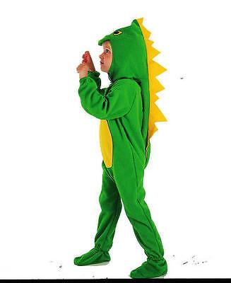 Childrens Dinosaur Fancy Dress Costume Jurassic Park Boys Kids Outfit 2-3 Yrs - Jurassic Park Fancy Dress