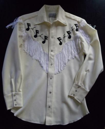 Cowboy Shirt Fringe Ebay