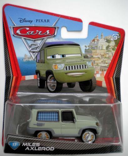 Pixar Cars  Miles Axelrod